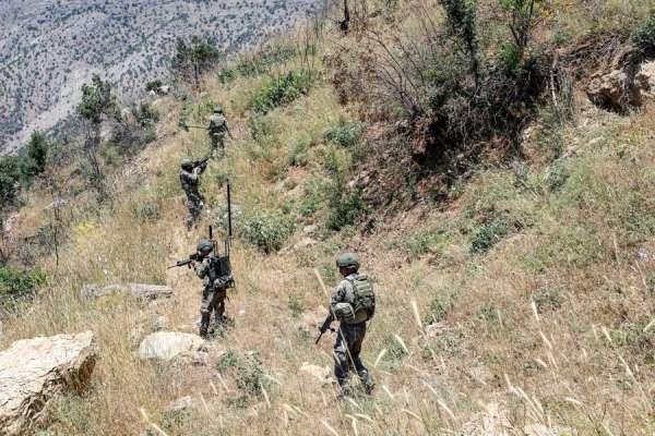 Irakın kuzeyinde 2 PKKlı terörist daha etkisiz hale getirildi