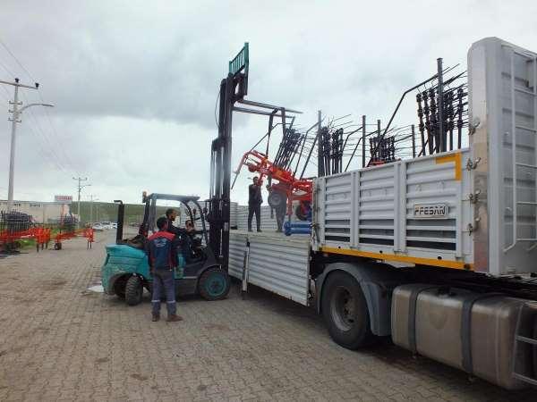 Malazgirtten 5 ülkeye tarım aleti ihracatı