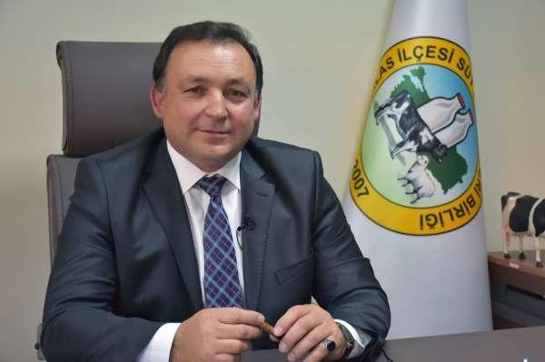 Milas Süt Birliği Başkanı Gezgin; 'Çiğ süt referans fiyatı üreticimize nefes ald