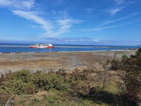 Yavuz Sondaj gemisi Karadenizdeki görevi için Filyos Limanına ulaştı