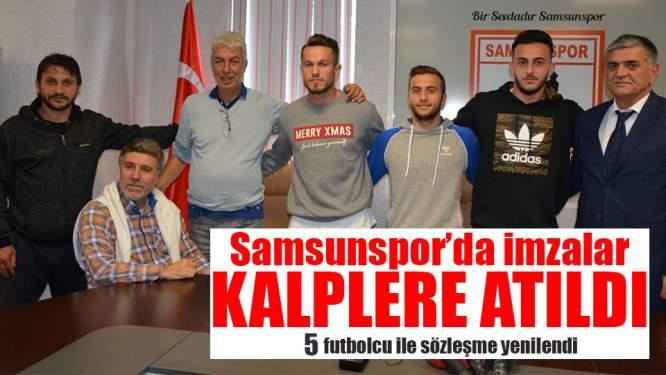 Samsunspor Sözleşme İmzaladı