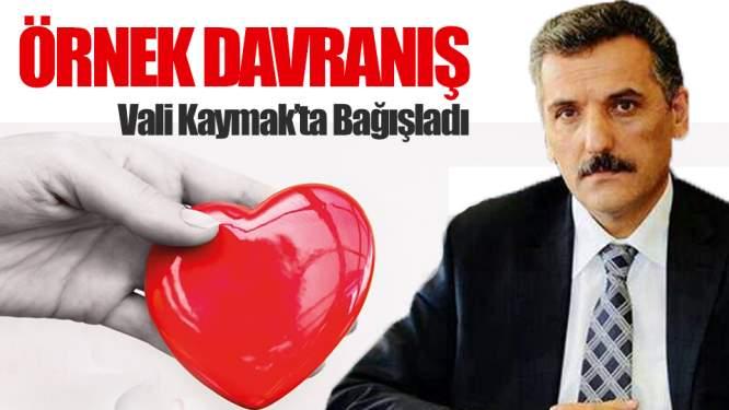 Samsun Valisi Kaymak'ta Organlarını Bağışladı!