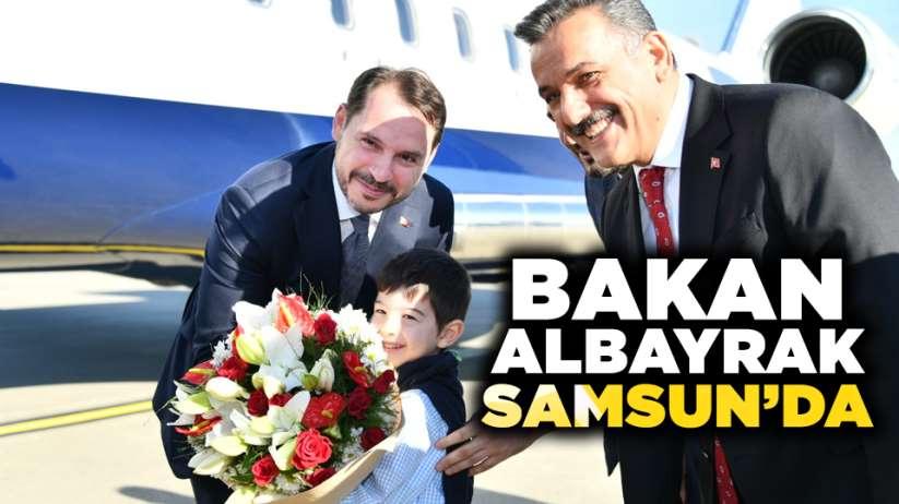 Bakan Berat Albayrak, Samsun'a geldi!