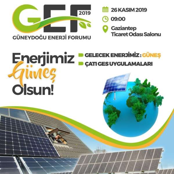 Gaziantep, enerji forumuna hazırlanıyor