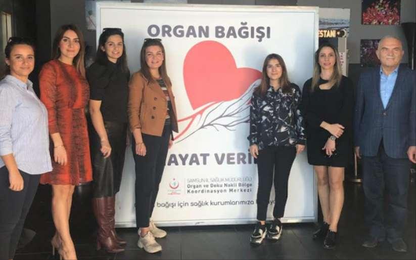 Liv Hospital Samsun organ bağışı panelinde