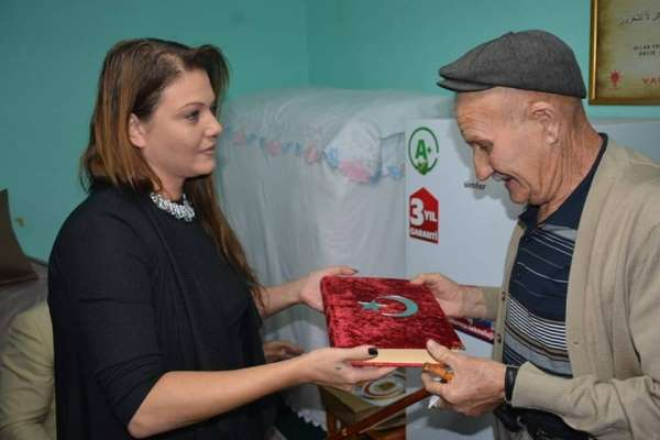 Osmanlı Torun Ocaklarından şehit ailesine ziyaret