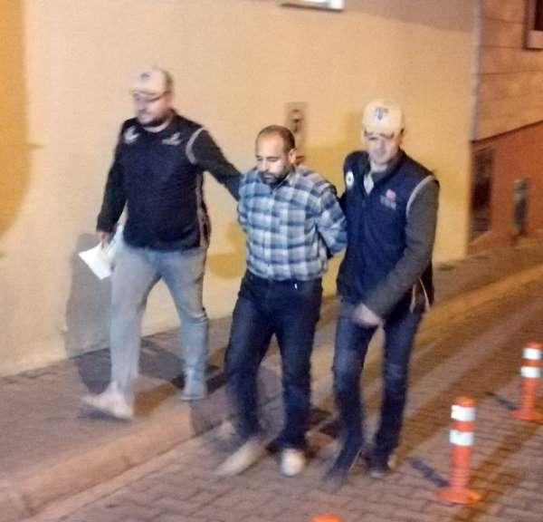 Teröristlere yardım ve yataklık suçundan yakalanan şahıs Kayseri'ye getirildi