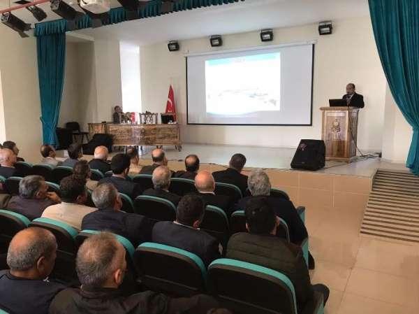 Tokat'ta, afet bilinci eğitimi