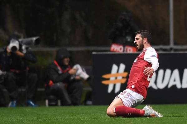 UEFA Avrupa Ligi: Braga: 2 - Beşiktaş: 1 (İlk yarı)
