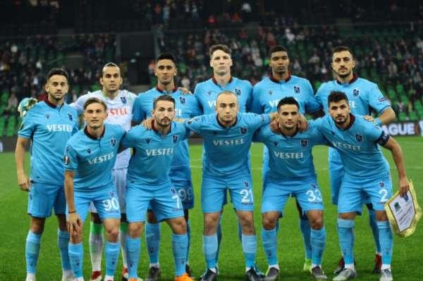 UEFA Avrupa Ligi: Krasnodar: 2 - Trabzonspor: 0 (İlk yarı)