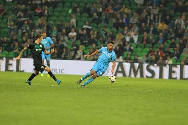 UEFA Avrupa Ligi: Krasnodar: 3 - Trabzonspor: 1 (Maç sonucu)