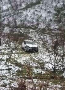 Kaza yapan aracı kurtarma operasyonu faciaya dönüyordu