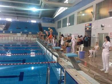Yüzme Gençler İl Birinciliği müsabakaları tamamlandı