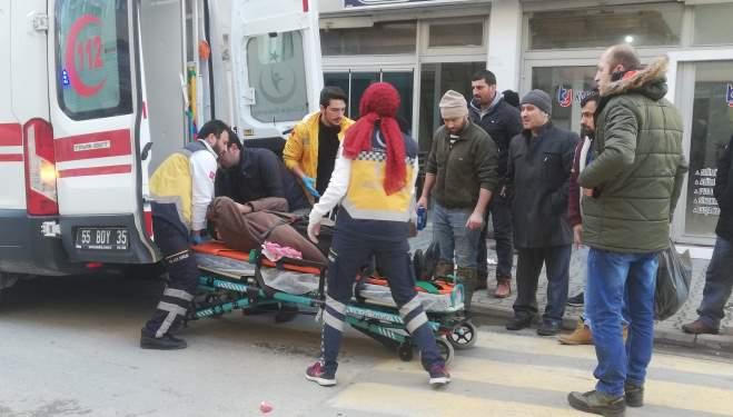 Samsun'da Kaza : Trafik Kazası! 1 Yaralı