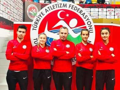 Erdek'li atletler İstanbul'dan başarı ile döndü