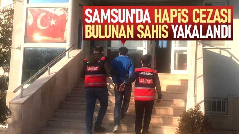 Samsunda hapis cezası bulunan şahıs yakalandı