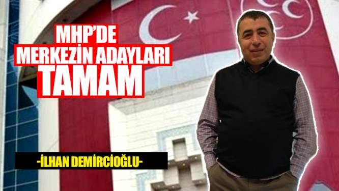Samsun Haberleri:MHP'de Merkezin Adayları Tamam