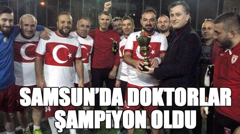 Samsun'da doktorlar şampiyon
