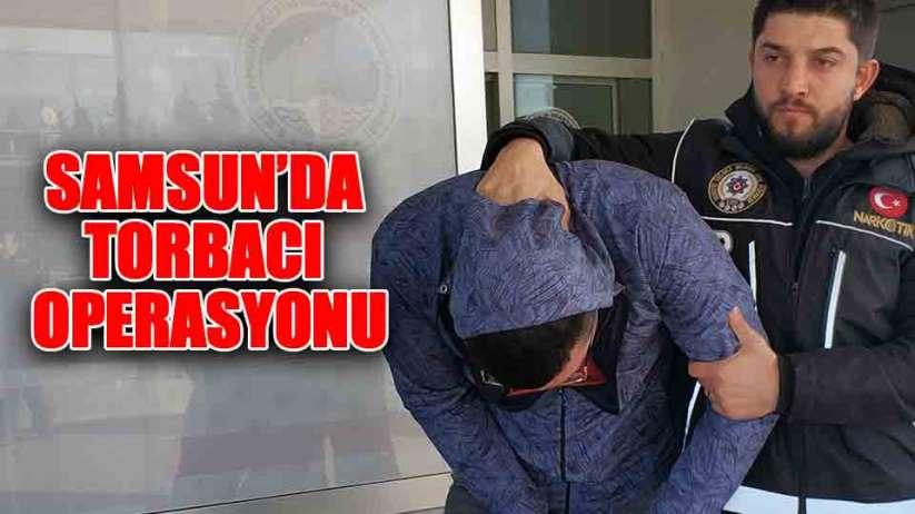 Samsun'da uyuşturucu hap satan şahıs gözaltına alındı