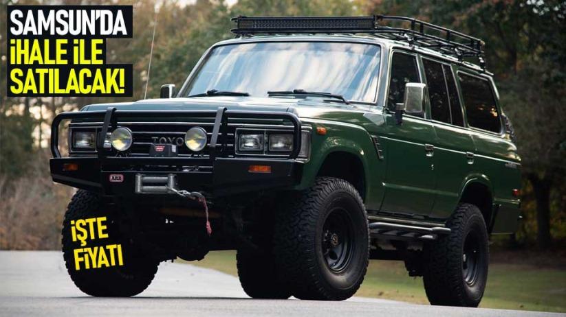 Samsunda Toyota Landcuriser ihale ile satılık