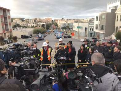 San Francisco'da doğalgaz patlaması