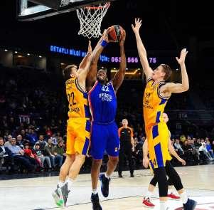 THY Euroleague: Anadolu Efes: 93 - Gran Canaria: 74
