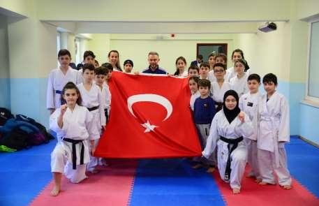22 ilden 984 karateci Kahramankazan'da buluştu