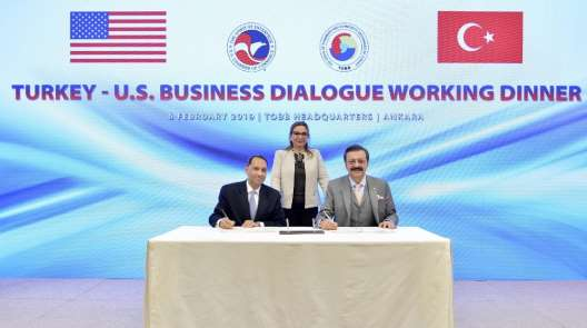 TOBB Başkanı Hisarcıklıoğlu: 'Çelik ithalatına getirilen vergiyi hakkaniyetli bu