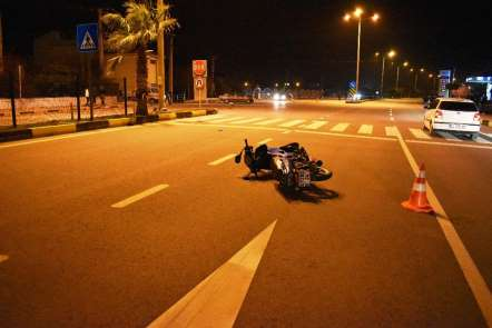 Antalya'da trafik kazası: 2 yaralı