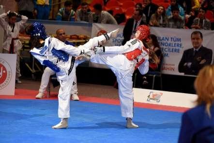 Taekwondo 4. WT Başkanlık Kupası'na Türkiye damgası