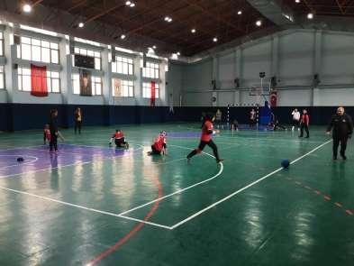 Goalball'ın melekleri Erzurum'da