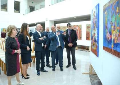'Kazakistan Sanatçıları Resim Sergisi' açıldı