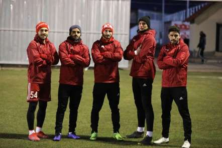 DG Sivasspor, E. Yeni Malatyaspor maçına hazır