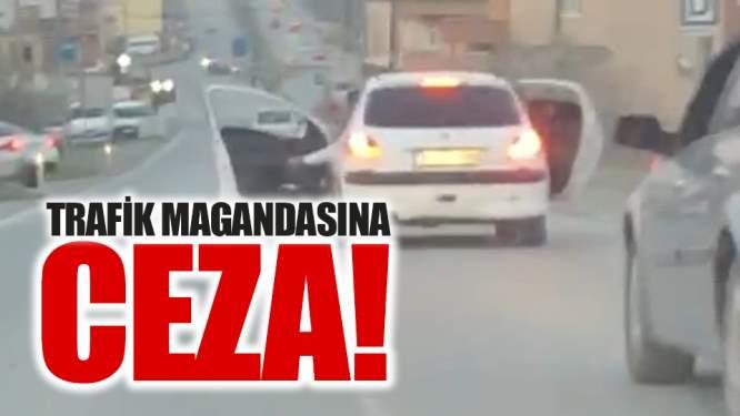Trafik magandasına ceza