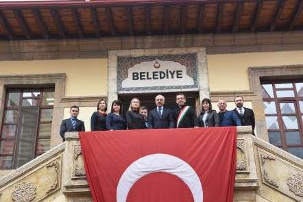Macaristan ve Litvanya heyetinden Çorum Belediyesi'ne ziyaret