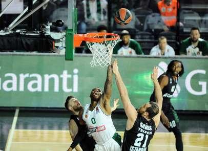 THY Euroleague: Darüşşafaka: 67 - Panathinaikos: 91