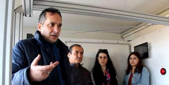 Avrasya Üniversitesi Acil Durum ve Afet Yönetimi Programı öğrencilerine ders ver