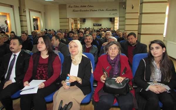AK Parti sandık görevlilerine seminer