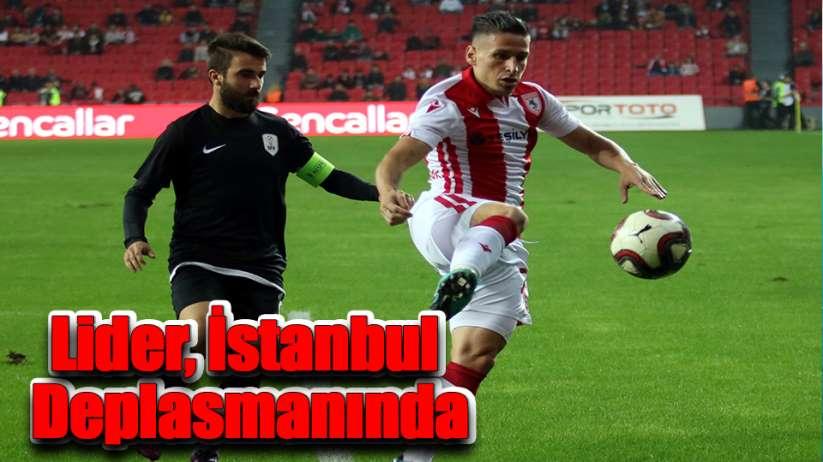 Lider Samsunspor, İstanbul Deplasmanında