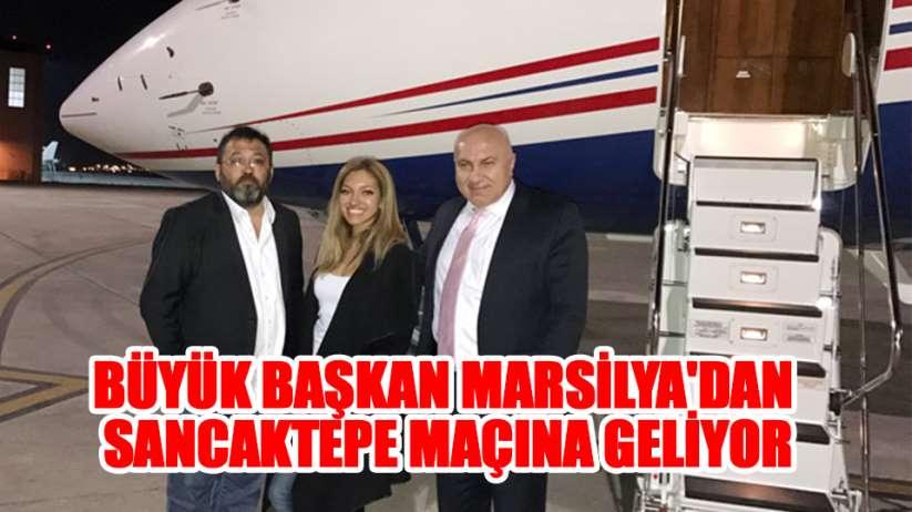 Samsunspor Başkanı Yüksel Yıldırım Marsilyadan Sancaktepe maçına geliyor