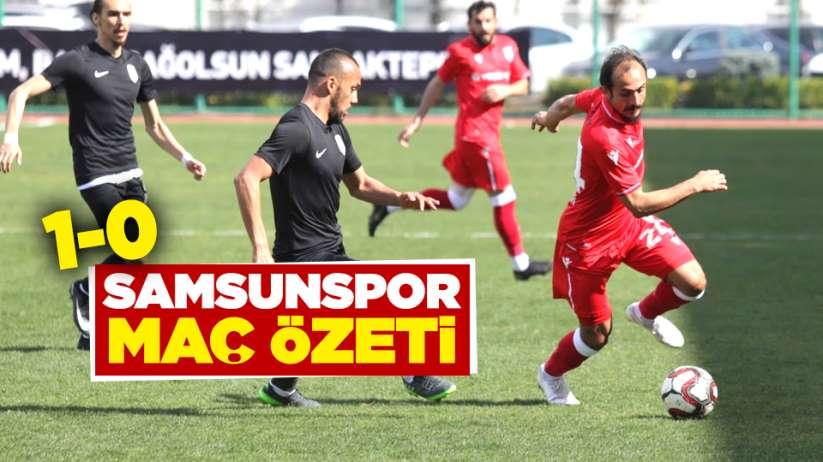 Samsunspor Sancaktepe FK maç özeti
