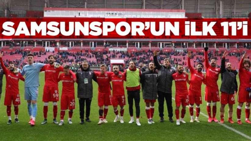 Samsunsporun Sancaktepe FK Karşısında 11i