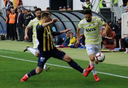 Spor Toto Süper Lig: MKE Ankaragücü: 1 - Fenerbahçe: 1 (Maç sonucu)