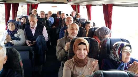 Gaziler 45 yıl sonra Kıbrıs yolunda