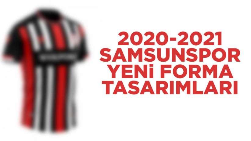 2020-2021 Samsunspor yeni forma tasarımları