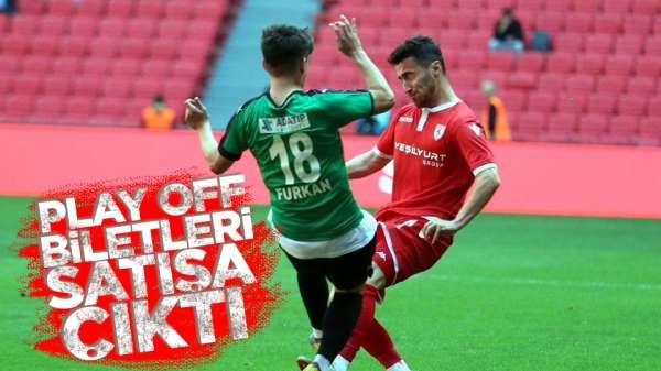 Sakaryaspor Samsunspor maç biletleri satışa çıktı.