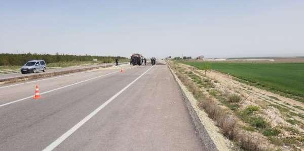 Kırşehir'de trafik kazası: 3 yaralı