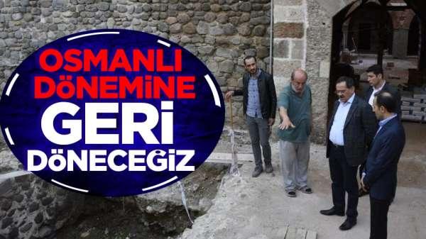 Mustafa Demir'den saathane projesine denetim