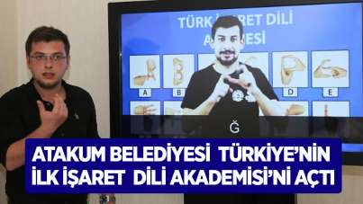 Atakum Belediyesi Türkiye'nin ilk İşaret Dili Akademisi'ni açtı