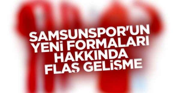 Samsunsporun yeni sezon 2019 formaları gündemde